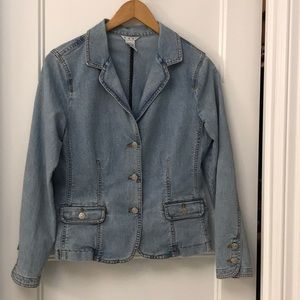Cabi vintage jean jacket 250  size 8.